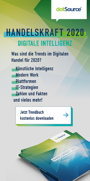 Banner - Handelskraft 2020 - Digitale Intelligenz